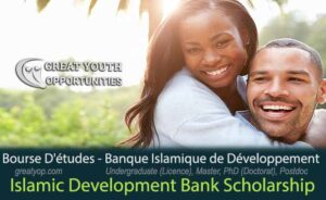 Islamic Development Bank Scholarship