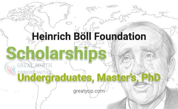 Heinrich Böll Foundation scholarships 2020-2021 in Germany