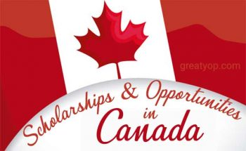 Study in Canada Scholarships opportunity