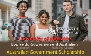 University of Adelaide Australian Government Scholarship