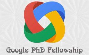 Google PhD Fellowship