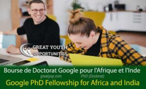 Google PhD Fellowship for Africa and India