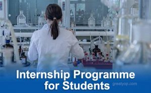 Internship for students