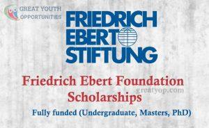 Friedrich Ebert Foundation Scholarships