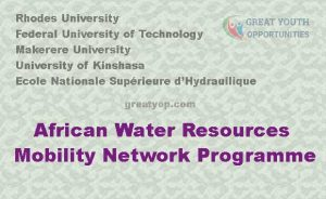 African Water Resources Mobility Network Programme