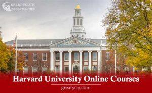 Harvard University Online Free Courses