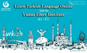Learn Turkish language online with the Yunus Emre Institute