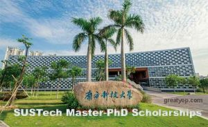 SUSTech Integrated Master-PhD and PhD Scholarships