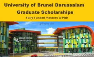 University of Brunei Darussalam Scholarships