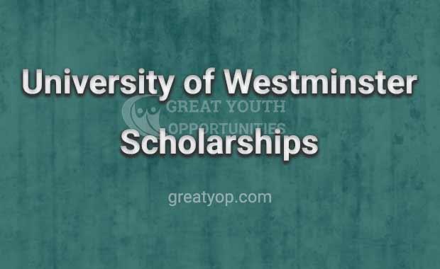 University of Westminster Postgraduate Scholarship