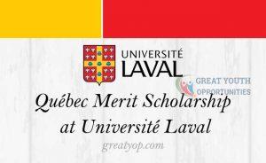 Québec Merit Scholarship at Université Laval for Foreign Students