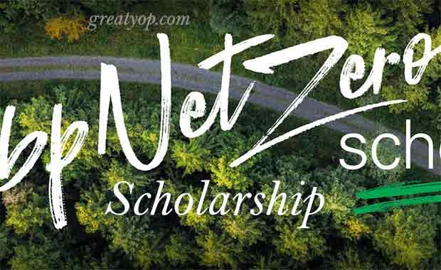 bp Net Zero Scholarship for One Young World Summit