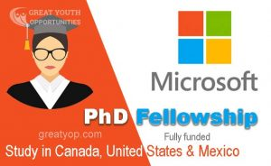 Microsoft Research PhD Fellowship