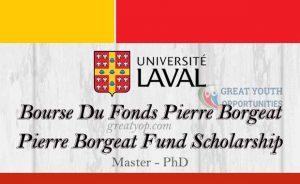 Pierre Borgeat Fund Scholarship on Arthritis and Rheumatic Diseases