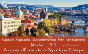 Government of the Czech Republic Scholarships