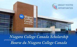 Niagara College Canada Scholarship