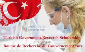 Turkish Government Research Scholarship