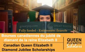 Canadian Queen Elizabeth II Diamond Jubilee Scholarships