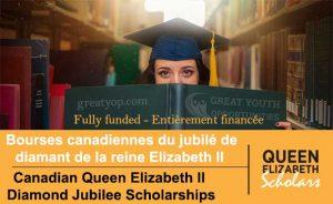Canadian Queen Elizabeth II Diamond Jubilee Scholarships