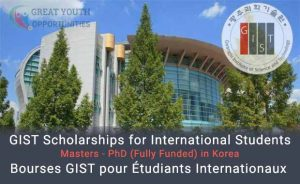 GIST Scholarships for International Students
