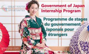 Government of Japan Internship Program