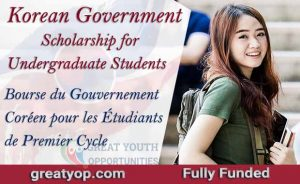 Korean Government Scholarship (GKS) for Undergraduate Students