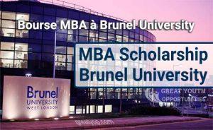 MBA Scholarship at the Brunel University