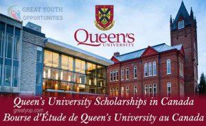 Queen's University in Canada Graduate Scholarships