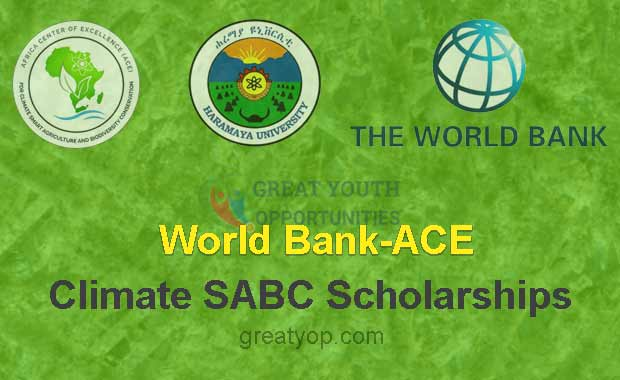 World Bank-ACE Climate SABC Scholarships