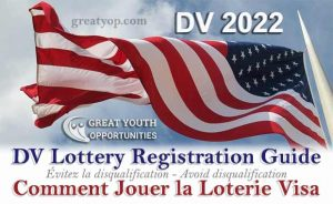 DV Lottery 2022 Registration Guide