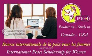 International Peace Scholarship for Women - PEO