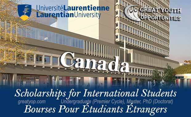 Laurentian University International Scholarships, Canada