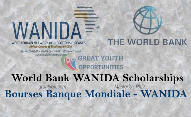 World Bank WANIDA Master and PhD Scholarships