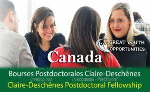 Grand Concours de bourses postdoctorales Claire-Deschênes