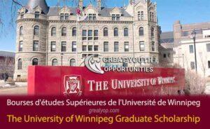 The University of Winnipeg Graduate Studies Scholarship