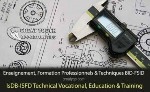 IsDB-ISFD Technical Vocational, Education & Training Scholarship
