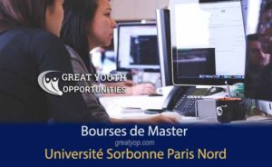 Bourses de Master de l'Université Sorbonne Paris Nord