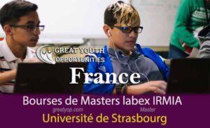 Bourses de Masters labex IRMIA pour Étudier en France