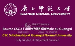 Chinese Government Scholarship at Guangxi Normal University