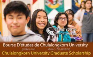 Chulalongkorn University Graduate Scholarship