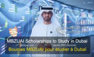 MBZUAI Scholarship to Study in Dubai