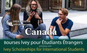 Ivey Scholarships to Study in Canada