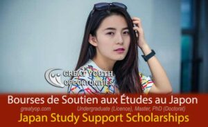 Japan Study Support Scholarships