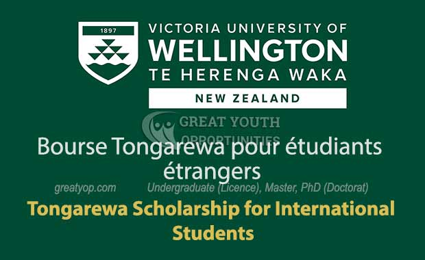 Tongarewa Scholarship for International Students