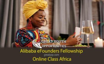 Alibaba eFounders Fellowship Online Class Africa