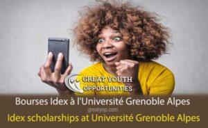 Bourses Idex à l'Université Grenoble Alpes