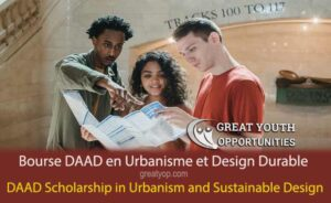 DAAD Scholarship in Integrated Urbanism and Sustainable Design