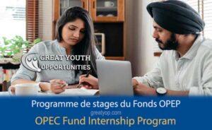 OPEC Fund for International Development Internship Program