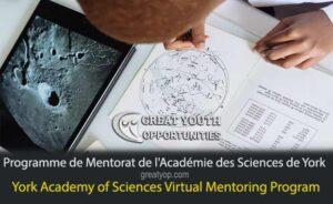 York Academy of Sciences Virtual Mentoring Program