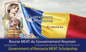 Government of Romania MEAT Scholarship